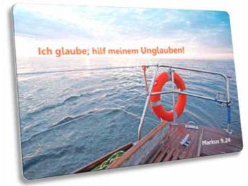 Jahreslosung 2020 Postkarte: Rettungsring - Jahreslosungskarte