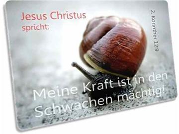 Postkarte zur Jahreslosung 2012: Kleine Schnecke