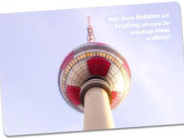 Christliche Postarte - Berliner Fernsehturm