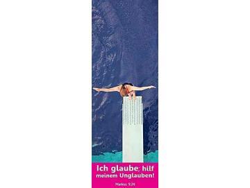 Jahreslosung 2020 Lesezeichen 10er-Set: Turmspringerin