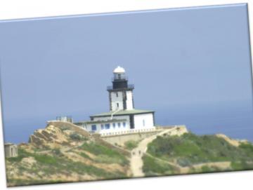 Leinwanddruck: Leuchtturm La Revellata, Korsika