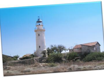 Leinwanddruck: Leuchtturm, Paphos II