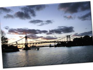 Leinwanddruck: Wilhelmshaven- Kaiser-Wilhelm-Brücke I