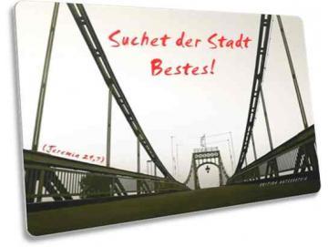 Christliche Karte: Kaiser-Wilhelm-Brücke