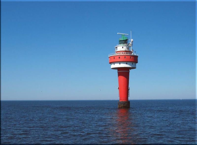 Leinwanddruck: Leuchtturm Alte Weser