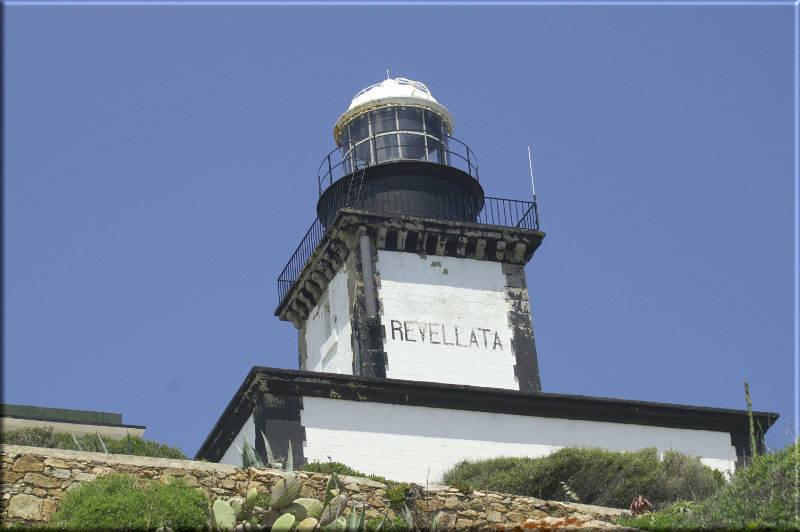 Leinwanddruck: Leuchtturm La Revellata II